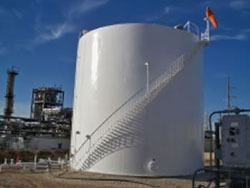 Exterior Tank Coating Project