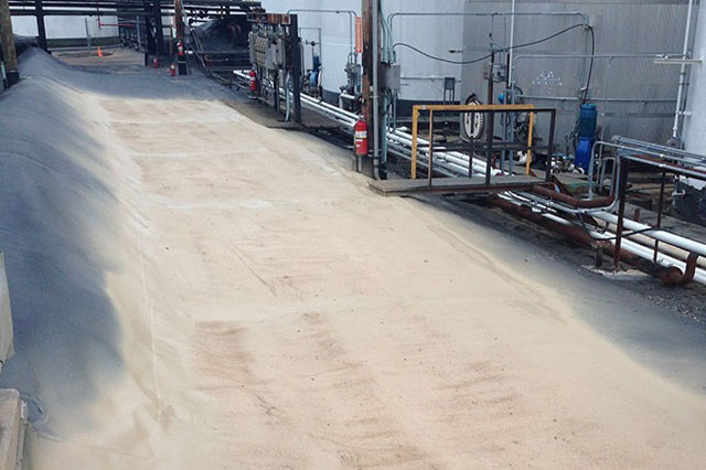 Kinder Morgan Polyurea Liner Coating in Staten Island, NY